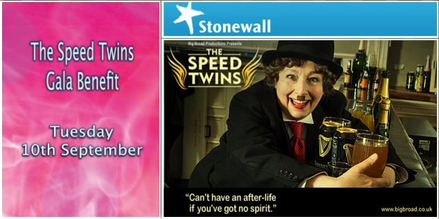 The Speed Twins Gala Benefit Night for Stonewall