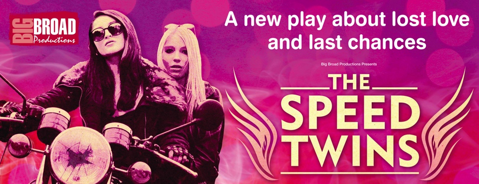 The Speed Twins - Banner